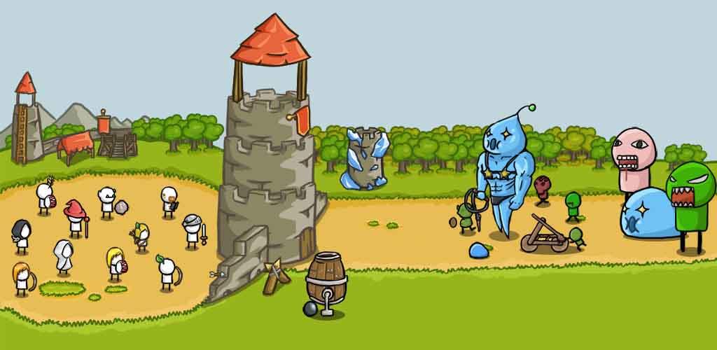 دانلود رایگان بازی Grow Castle با پول بینهایت
