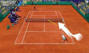 دانلود بازی Tennis 3D با پول بینهایت