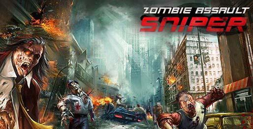 دانلود بازی مود شده مبارزه با زامبی ها Zombie Assault:Sniper