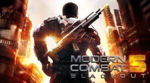 دانلود بازی Modern Combat 5 Blackout با پول بینهایت