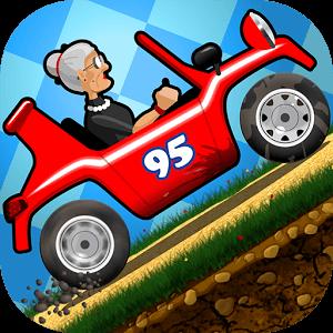 دانلود بازی مادربزرگ عصبانی Angry Gran Racing با پول بینهایت