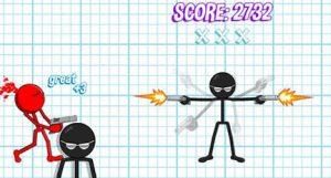 دانلود بازی آدمک تیرانداز Gun Fu Stickman 2 مود شده