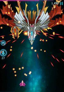 دانلود بازی شاهین کهکشان Galaxy Falcon نسخه مود شده
