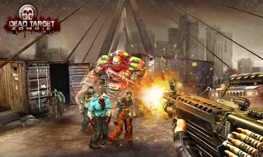 دانلود بازی مود شده DEAD TARGET Zombie با پول بینهایت