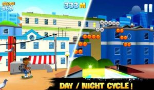 دانلود نسخه مود شده بازی Skyline Skaters با پول بی نهایت