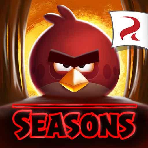 دانلود بازی مود شده پرندگان خشمگین فصل ها Angry Birds Seasons اندروید