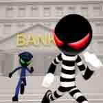 دانلود بازی Stickman Bank Robbery Escape با پول بینهایت