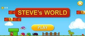 دانلود بازی Steve´s World برای اندروید