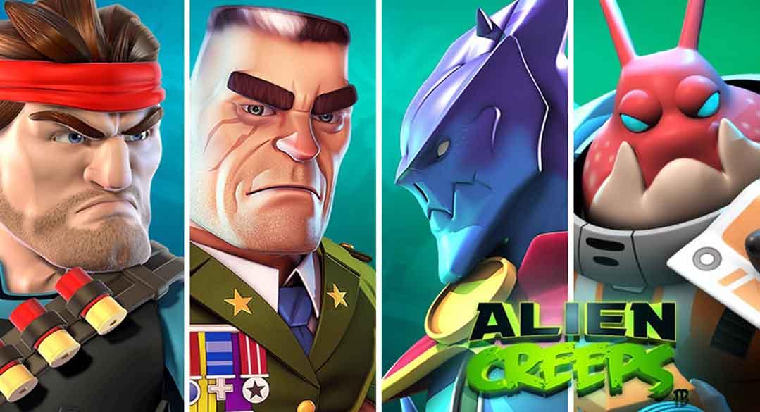 دانلود بازی Alien Creeps نسخه مود شده با پول بینهایت