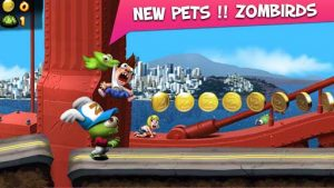 دانلود بازی مود شده Zombie Tsunami با پول بینهایت