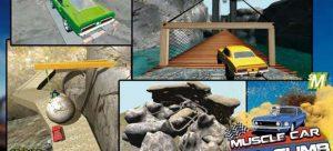 دانلود بازی 3d Hill Climb Muscle Cars برای اندروید