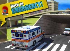دانلود بازی Ambulance Rescue Simulator برای اندروید + مود