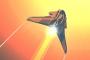 دانلود بازی هدایت سفینه فضایی Hyperburner اندروید با پول بینهایت