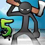 دانلود بازی خشم آدمک ها Anger of Stick 5 برای اندروید + مود