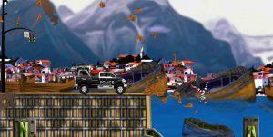 دانلود بازی Smash Police Car با پول بینهایت