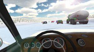 دانلود بازی Russian Winter Traffic Racer برای اندروید