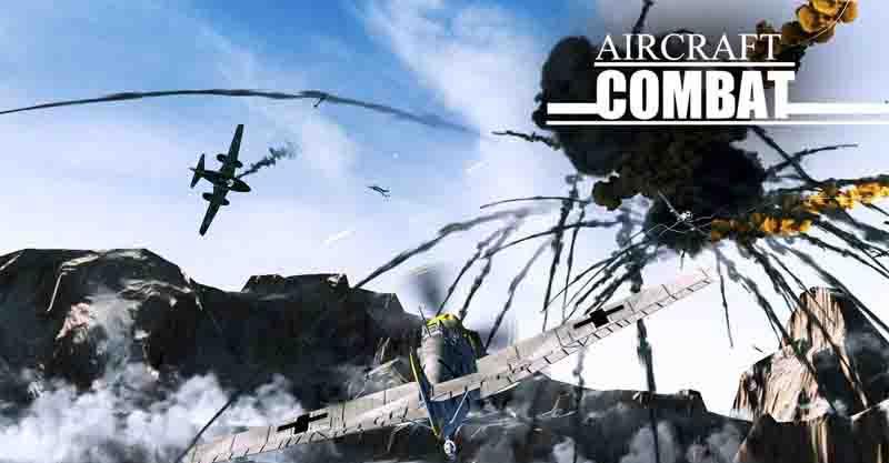 دانلود بازی Aircraft Combat با پول بینهایت
