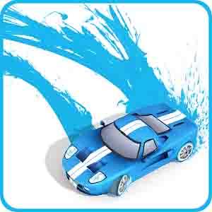 دانلود بازی ماشین های رنگ پاش Splash Cars با پول بینهایت