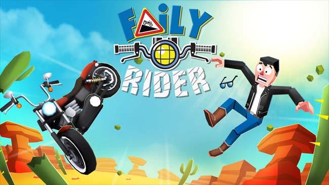 دانلود بازی Faily Rider موتور بی ترمز با پول بینهایت