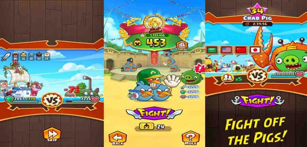 دانلود بازی پرندگان ماهیگیر با پول بی نهایت دانلود بازی Angry Birds Fight RPG Puzzle با پول بینهایت ...