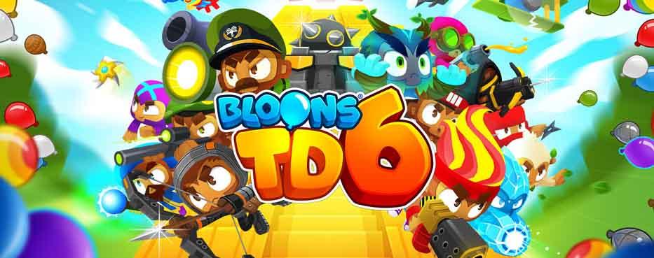 دانلود بازی برج دفاعی بلونز 5 Bloons TD با پول بینهایت