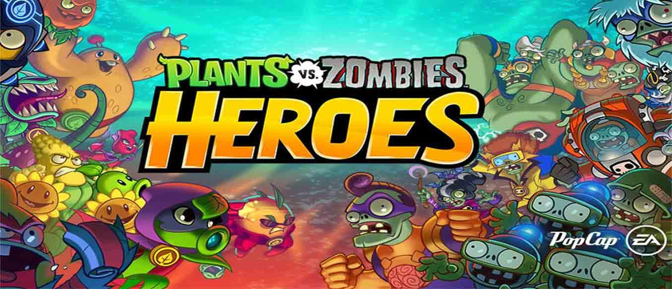 دانلود بازی زامبی ها و گیاهان قهرمانان Plants vs. Zombies Heroes نسخه بینهایت