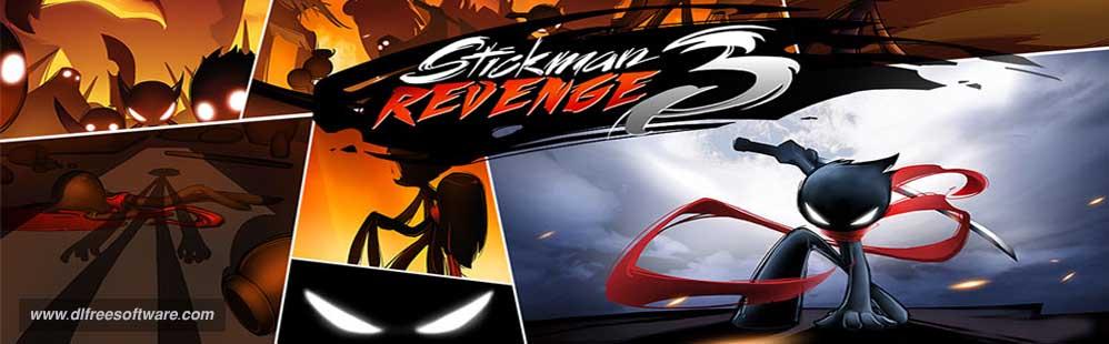 دانلود بازی انتقام استیکمن Stickman Revenge 3 با پول بینهایت
