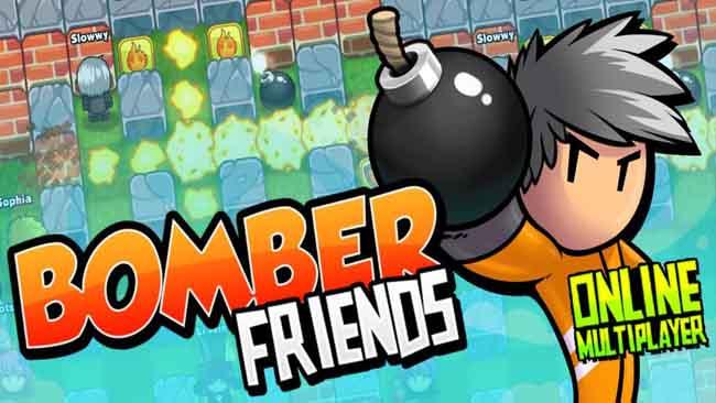 دانلود بازی بمب انداز Bomber Friends با پول بینهایت