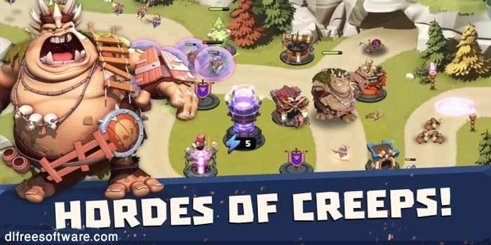 بازی کابوس دشمن با پول بینهایت برای اندروید دانلود بازی دفاع از قلعه سرخ Castle Creeps با پول بینهایت ...