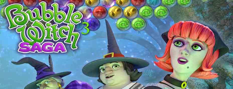دانلود بازی حباب جادوگر Bubble Witch Saga برای اندروید