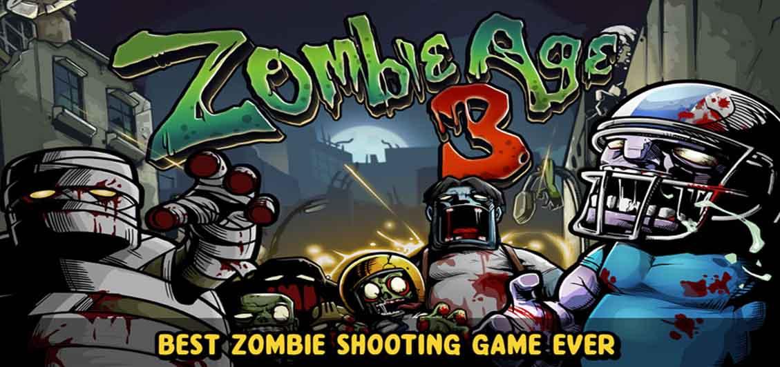دانلود بازی عصر زامبی Zombie Age 3 با پول بینهایت
