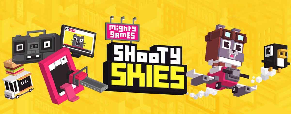 دانلود بازی خلبان کوچک Shooty Skies – Arcade Flyer با پول بینهایت