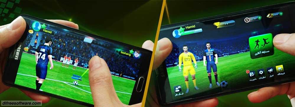 دانلود بازی کات (فوتبال آنلاین) با پول و طلا بی نهایت