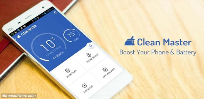 دانلود برنامه افزایش سرعت گوشی Clean Master اندروید