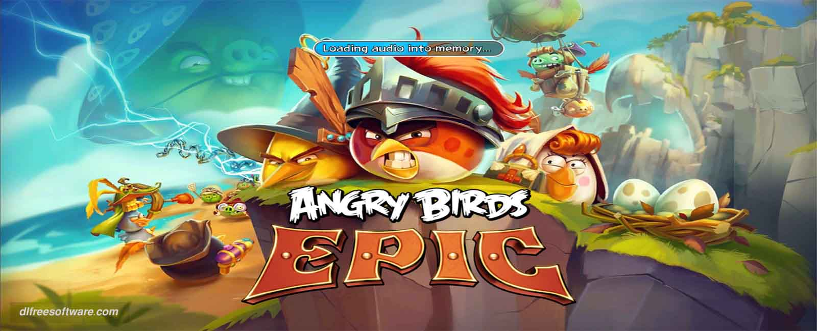 دانلود بازی Angry Birds Epic با پول بی نهایت