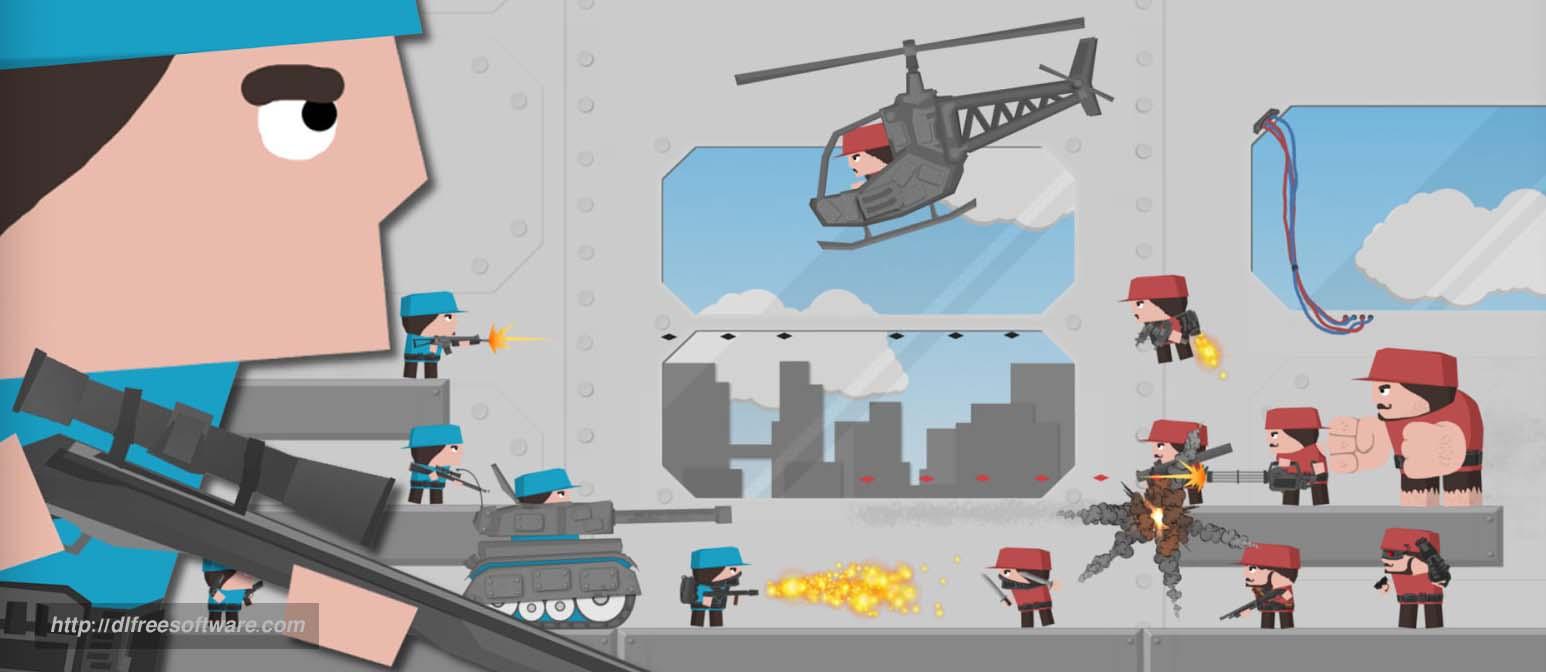 دانلود بازی Clone Armies با پول بینهایت