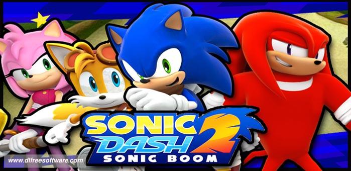 دانلود بازی سونیک دش Sonic Dash 2: Sonic Boom با پول بینهایت