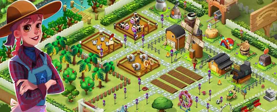 دانلود بازی مزرعه بهاری با پول بی نهایت