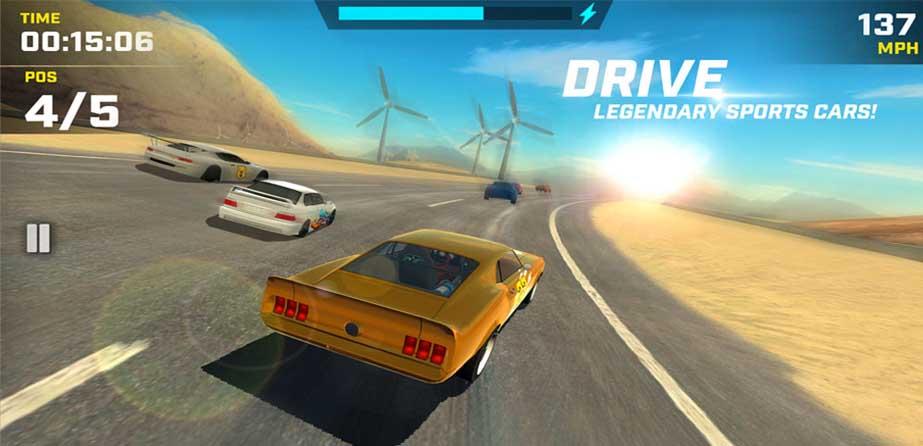 دانلود بازی مسابقه ای Race Max با پول بی نهایت