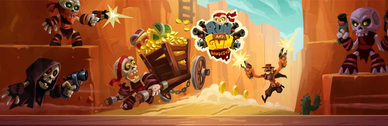 دانلود بازی بدو و بکش: راهزنان Run & Gun: BANDITOS با پول بی نهایت