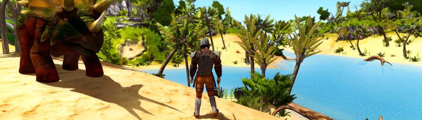 دانلود بازی The Ark of Craft: Dinosaurs Survival Island Series با پول بی نهایت