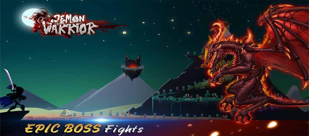 دانلود بازی جنگجوی شیطان Demon Warrior با پول بی نهایت