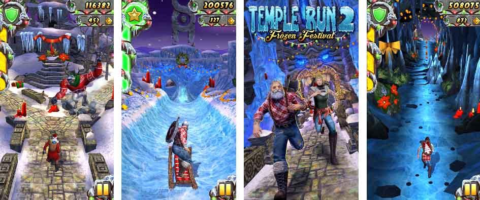 دانلود بازی مود شده تمپل ران Temple Run 2 با پول بی نهایت