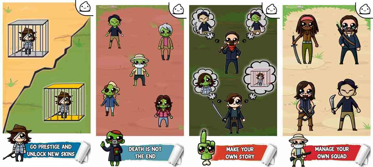 دانلود بازی TWD Zombie Evolution – Idle Clicker Game با پول بی نهایت
