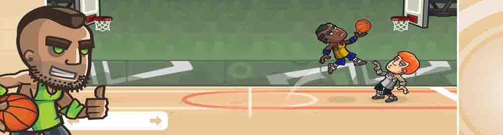 دانلود بازی بسکتبال دو نفره Basketball Battle با پول بی نهایت