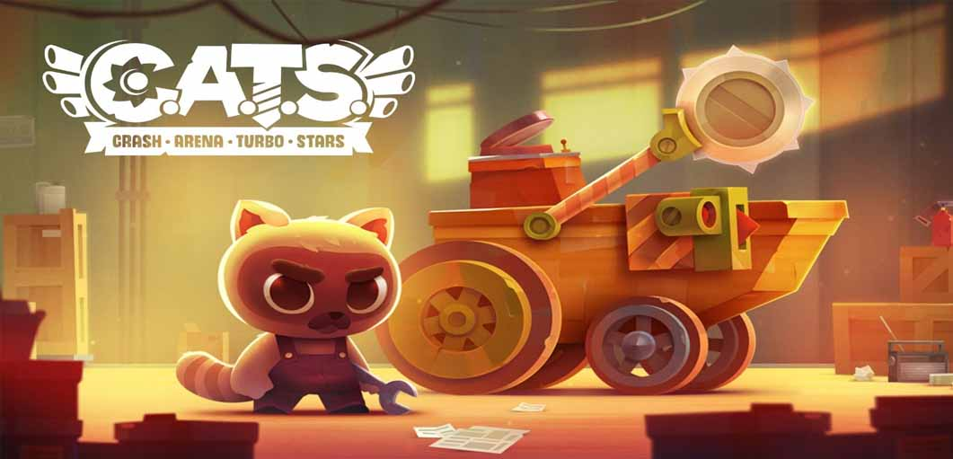 دانلود بازی CATS: Crash Arena Turbo Stars با پول بی نهایت