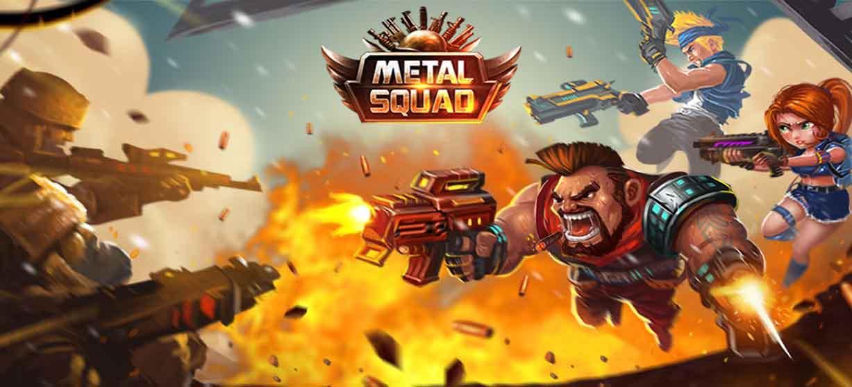دانلود بازی جوخه آهنین Metal Squad با پول بی نهایت