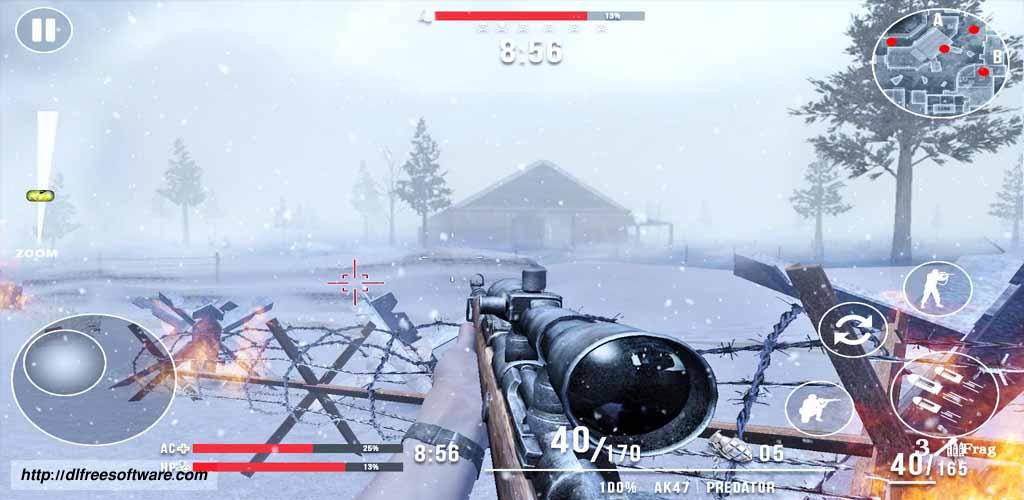 دانلود بازی Call of Sniper WW2: Final Battleground با پول بی نهایت