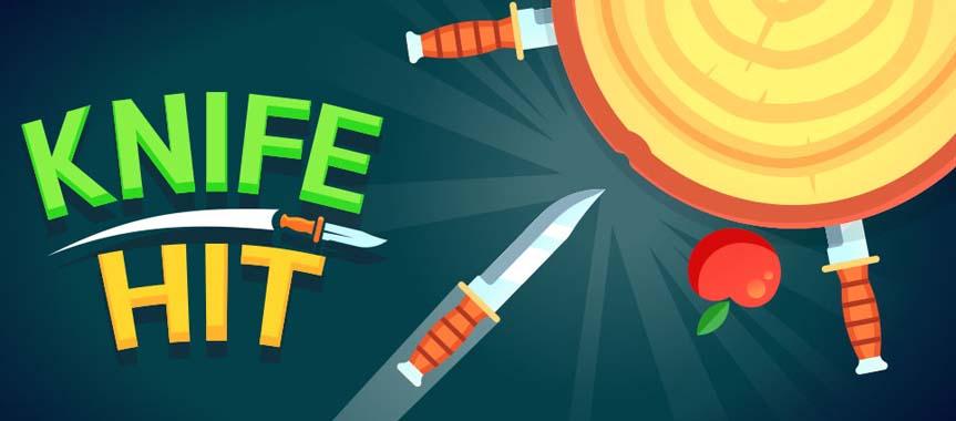 دانلود بازی پرتاب چاقو Knife Hit با پول بی نهایت