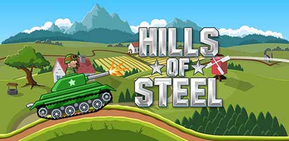 دانلود بازی Hills of Steel با پول بی نهایت